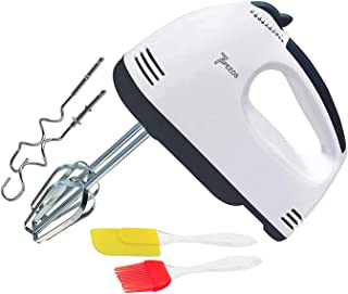 Easymart 260 W Electric Hand Mixer and Blenders with Chrome Beater and Dough Hook Stainless Steel Attachments - Speed Sett...