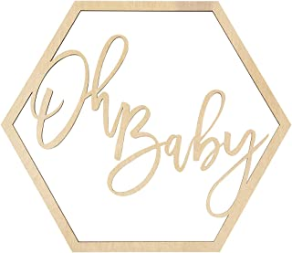 baby announcement wood sign