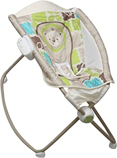 The Flyers Bay Fiddle Diddle Play n' Rock Baby Sleeper Cum Bed/Baby Bouncer/Baby Rocker (Panda Brown)