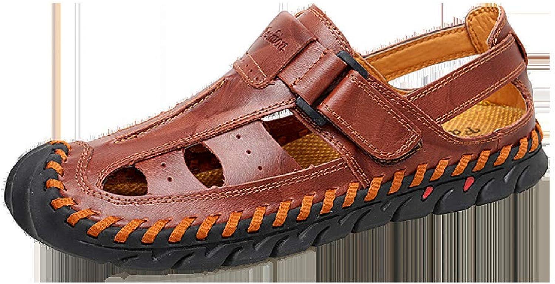 Sandaler av GJLIANNGXIE för män i sandaler, sandaler, sandaler, stora storlekar, sommarkläder, sandaler för män i läderstränder, vardagsskor för män  spara 60% rabatt och snabb frakt över hela världen