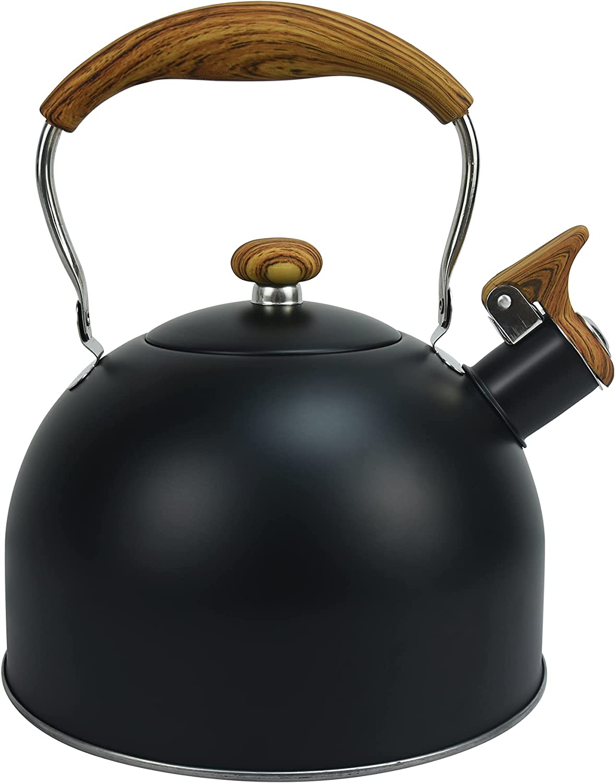 Tottshak Selling rankings Direct stock discount Tea kettle 2.5 Quart Kettle Stovetop Teap Whistling