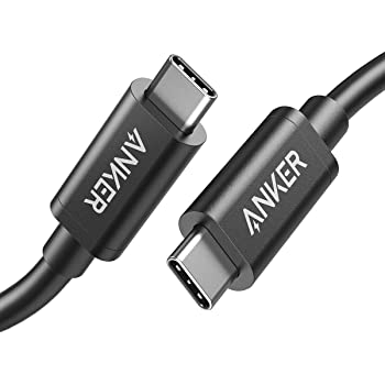 [Intel Certified] Anker Thunderbolt 3.0 Cable 1.6 ft (USB-C to USB-C) Supports 100W Charging / 40Gbps Data Transfer (Compatible with USB 3.1 Gen 1 and 2), Perfect for Type-C Macbooks