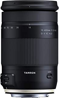 Tamron 18-400mm F/3.5-6.3 DI-II VC HLD All-in-One Zoom for Canon APS-C Digital SLR Cameras (6 Year Limited USA Warranty)