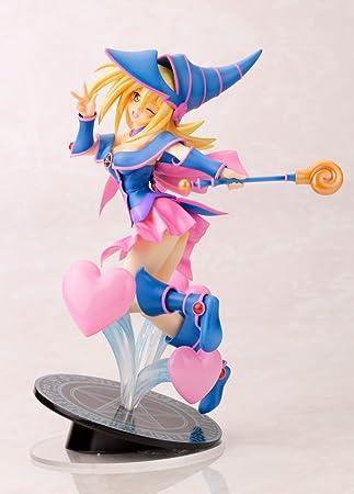 Amazon Com Kotobukiya Kotobukiya Yu Gi Oh El Lado Oscuro De Las Dimensiones Oscuro Mago Chica Ani Estatua Juguetes Y Juegos