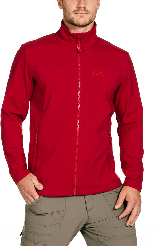 Jack Wolfskin Men's Essential Soft Shell Jacket