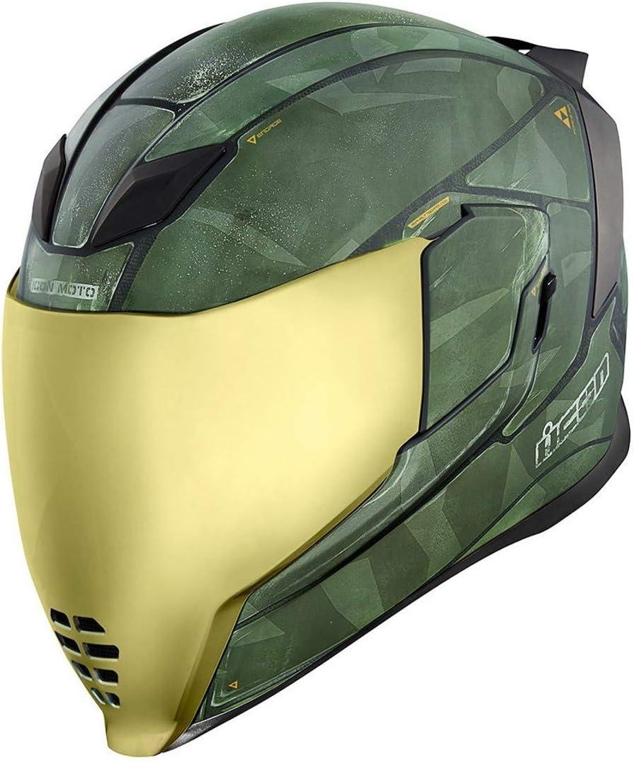 Nero ICON Colore Casco da Moto Airflite QB1