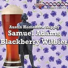 Austin Homebrew Clone Recipe Samuel Adams Blackberry Witbier (16A) - ALL GRAIN