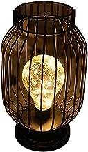 ABBY -J Ijzerdraad Nachtlampje in Kooi Vorm Nachtlampje Thuis Romantische Decor Batterij Aangedreven Lamp in Nordic Stijl ...