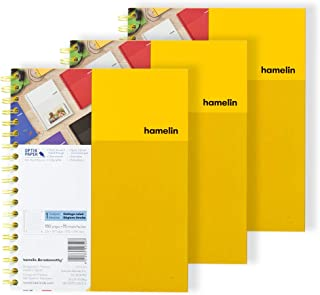 1 Subject College Ruled 8x10 Spiral Bound Notebook SUNSHINE Yellow 3-PACK