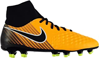 Official Nike Magista Onda II DF Firm Ground Football Boots Mens Orange Soccer Cleats