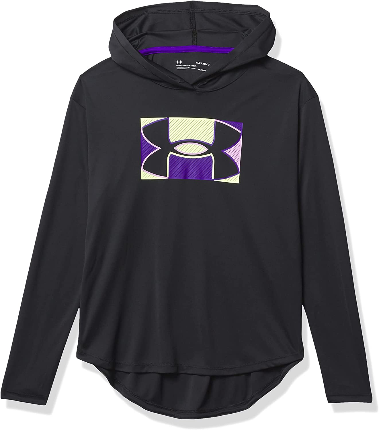 Under Armour Girls' Large special price Ranking TOP1 Tech Graphic Hoodie