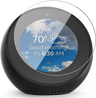 9H強化型エコースポットガラススクリーンプロテクター、防爆スクリーンフィルムフルエキゾーストカバーfor Amazon Echo Spot