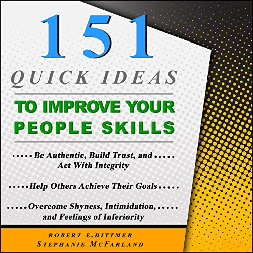 Couverture de 151 Quick Ideas to Improve Your People Skills