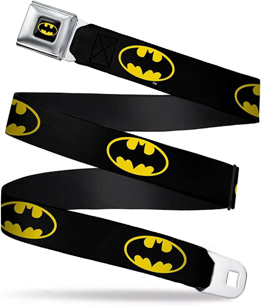 Buckle-Down Seatbelt Popular Outlet sale feature brand in the world Belt Batman XL