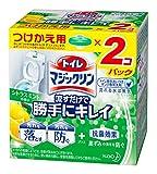 トイレマジックリン 流すだけで勝手にキレイ シトラスミントの香り つけかえ用 2個パック 80g×2個
