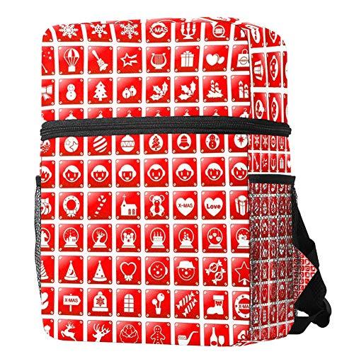 Bonita mochila de viaje para la escuela, mochila de viaje para niño y niña, diseño de regalo de Navidad