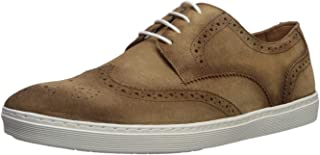 Mens Leather Made in Brazil Princeton Wingtip Laceup Sneaker