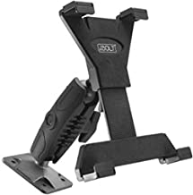 """iBOLT TabDock Bizmount AMPs - Heavy Duty Drill Base Mount for All 7"""" - 10"""" Tablets ( iPad , Samsung Tab ) for Cars, Desks,..."""