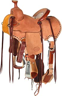 NRS Competitor Series Youth Team Roping Saddle 11.5