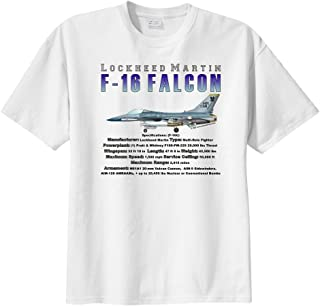 Men's Lockheed Martin F-16 Falcon Short Sleeve T-Shirt