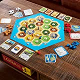 Catan Board Game (Base Game)   Family Board Game   Board Game for Adults and Family   Adventure Board Game   Ages 10+   for 3 to 4 Players   Average Playtime 60 Minutes   Made by Catan Studio