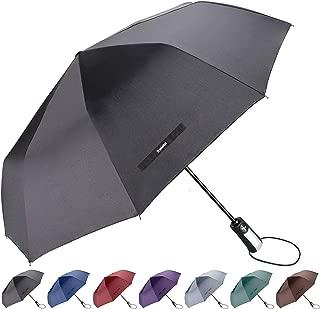 Travel Umbrella with 10 Reinforced Fiberglass Ribs 42