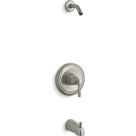 Kohler TS463-4S-BN Memoirs Stately Shower Bath Trim Brushed Nickel