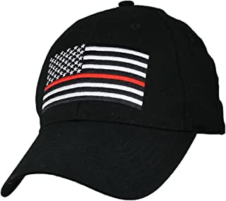 8b0f53fa3d176 Eagle Crest Fire Department Thin Red Line with Flag Baseball Cap