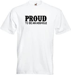 Black Dragon - T - Shirt Man - Attitude Proud to be an Asshole - JDM/Die Cut