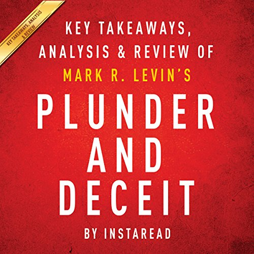 Plunder and Deceit by Mark R. Levin: Summary & Analysis audiobook cover art