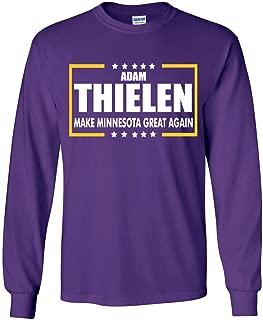 Long Sleeve Purple Denver Keenum 2018
