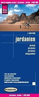 Jordan Travel Map (Jordanien) 1:400 000. Waterproof.