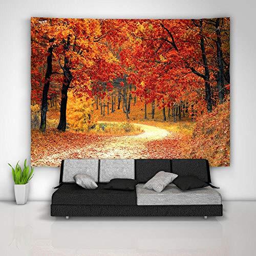 LDHHZ Oto?o Bosque Tapiz Arte Colgante de Pared sof¨¢ Mesa Cubierta de Cama decoraci¨n del hogar Regalo 200x150cm