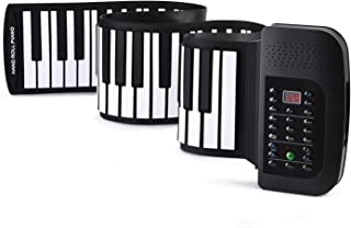 Donner Roll Up Keyboard Piano, 88 Keys Foldable for Kids Beg