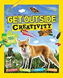 Get Outside Creativity Book: Cutouts, Games, Stencils, Stickers (National Geographic Kids) - National Geographic Kids