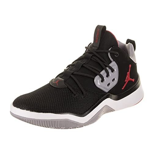 sports shoes d367c 426d7 Jordan Nike Men s DNA Black Gym Red Cement Grey Basketball Shoe 9.5 Men US