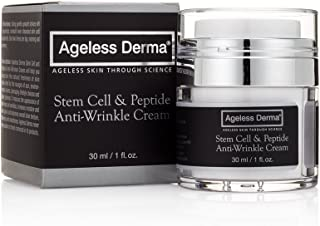 Ageless Derma Stem Cell and Peptide Facial Anti Wrinkle Cream By Dr. Mostamand. This Anti Aging Face Moisturizer Restores ...