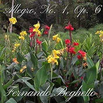 Allegro, No. 1, Op. 6