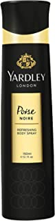 Yardley Noire Body Spray For - perfumes for women, 150 ml