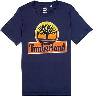 Timberland Camiseta Estampada de algodón NIÑO