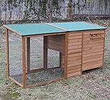 """Hühnerstall Chickenhouse Nr. 07 """"Gockelstolz"""" mit Eierbox und Freilauf - 3"""