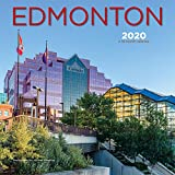 Edmonton 2020 12 x 12 Inch Monthly Square Wall Calendar, Canadian Regional Travel Canada