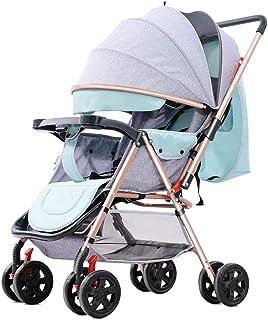 Stolar med vändbart styre, bärbar barnvagn ultralätt nyfödd buggy-e
