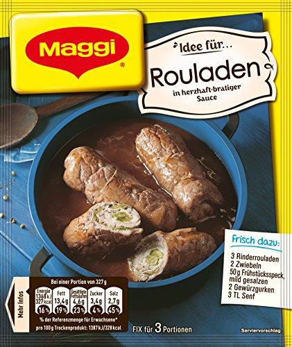 Maggi Fix für herzhafte Rouladen, ergibt 3 Portionen, 33 g