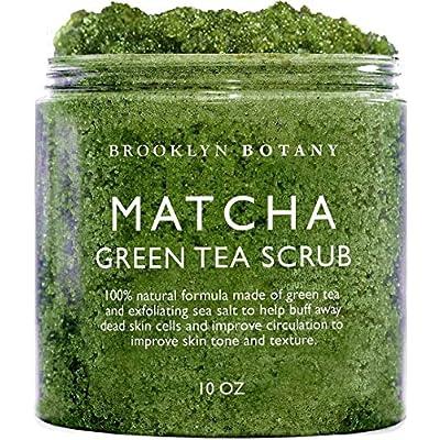 Brooklyn Botany Matcha Green Tea Exfoliating Bo...