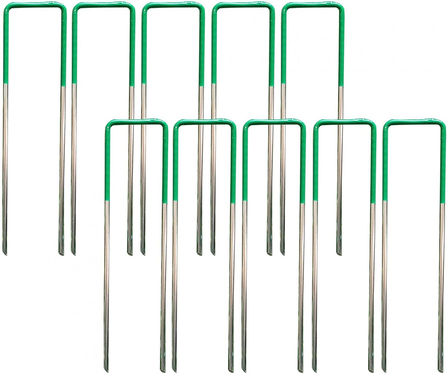 Garden Turf Max 43% OFF Pins 10pcs Durable Reusable Fixed Pene 100% quality warranty Ends Bevelled