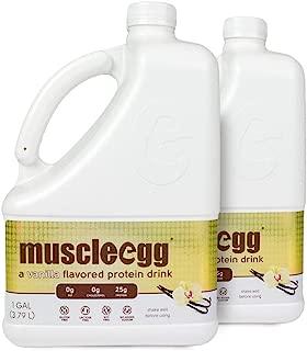 MuscleEgg Vanilla Liquid Egg Whites Protein - 2 Gallons