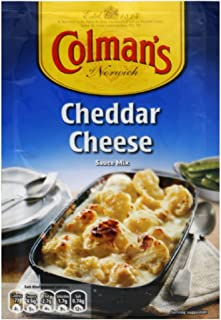Colman's Cheddar Cheese Sauce Mix, 1.4-Ounce (Pack of 12)