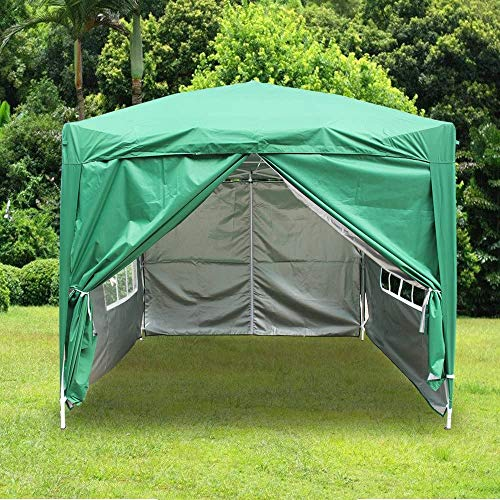 Portable Foldable pop-up Gaze Sunscreen Activity Outdoor Tent Four Legs,F-3X3M