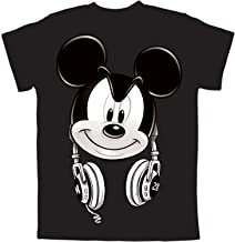 Mickey Mouse Headphones Boys Graphic T Shirt